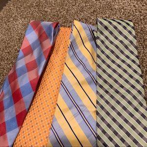 Set of 4 Nautica Ties